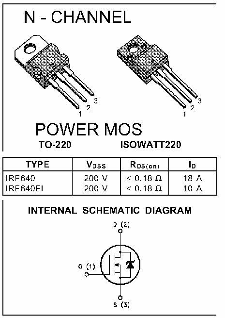 IRF1010N IRF 1010N Transistor N-MOSFET 55V 85A 180W TO220